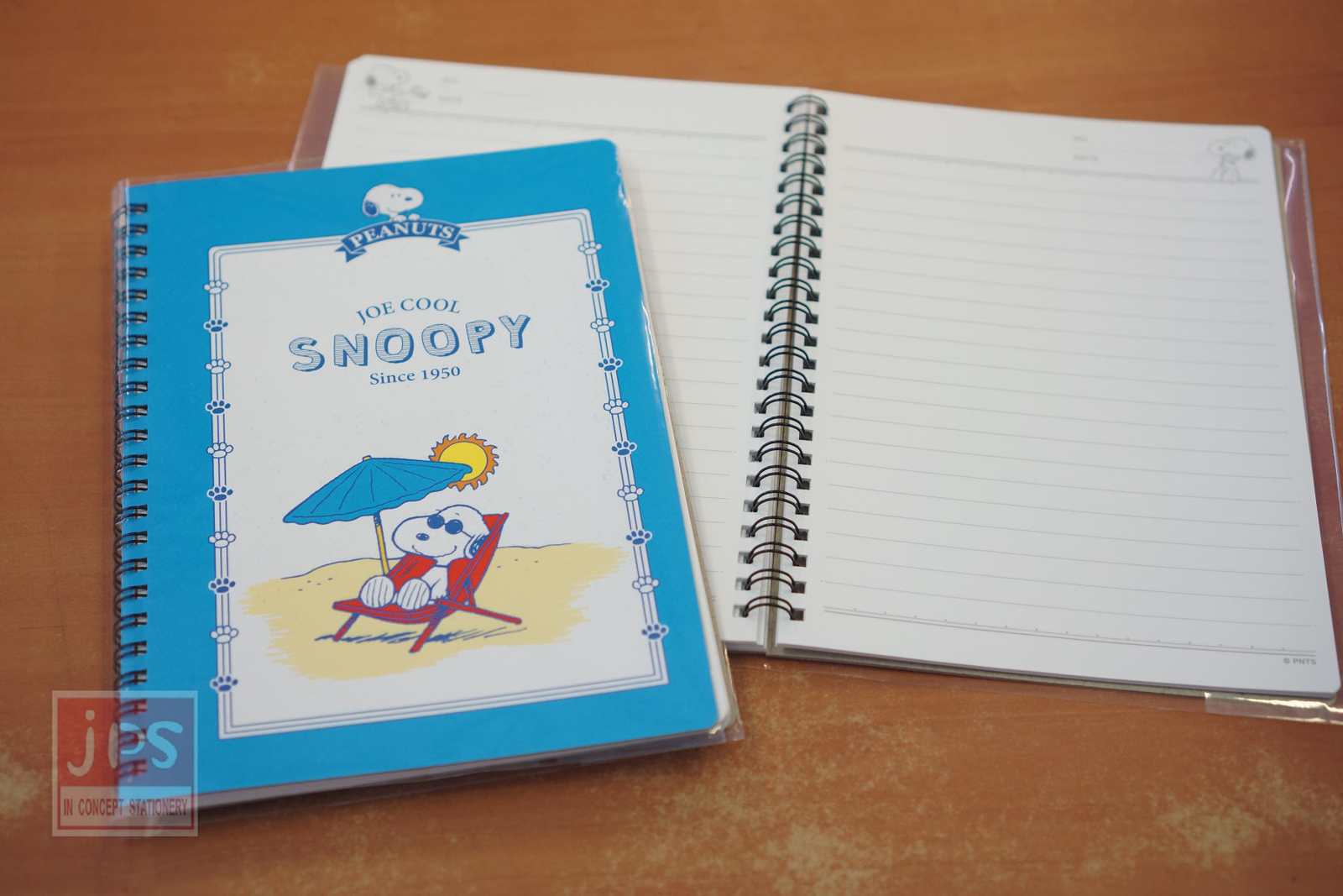 Snoopy 史努比 25K 線圈筆記本 藍