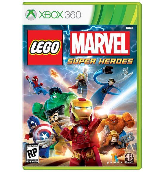 XBOX 360 Lego Marvel樂高:漫威驚奇超級英雄含數十種人物服裝道具密碼-英文版