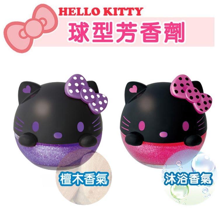 日本SEIWA出品HelloKitty凱蒂貓可愛大頭造型汽車芳香劑兩款可選