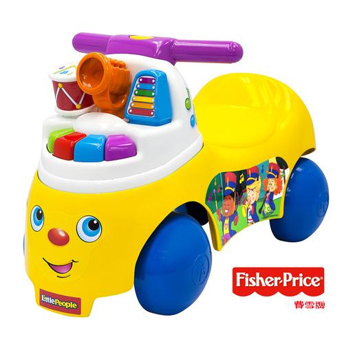 費雪Fisher-Price Little People 歡樂音樂家騎乘玩具
