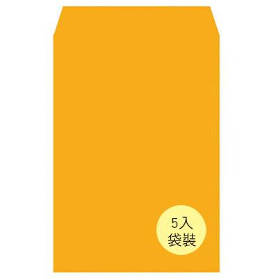 美加美 N12A4P A4金黃公文封(袋裝) 5入/ 袋