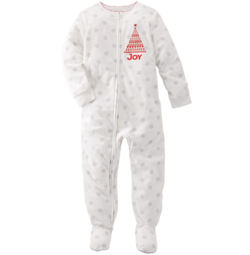 Carter's OshKosh美國童裝連身衣長褲長袖包腳白色點點6M 12M 18M 24M