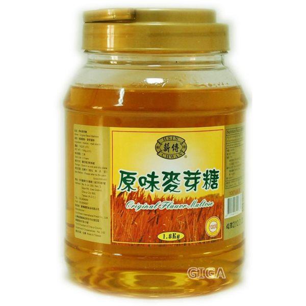 吉嘉食品薪傳原味麥芽糖麥芽膏每罐1800公克135元RW31 1