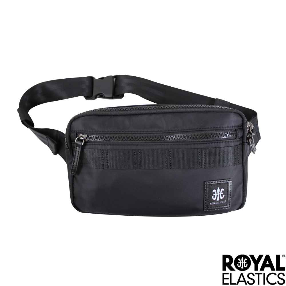 Royal Elastics - Knight闇黑騎士系列 -運動小型腰/胸包 - 黑色