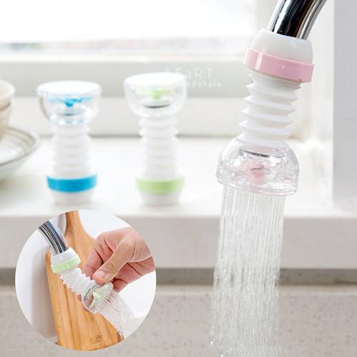 萬向旋轉可伸縮扇葉水龍頭節水器 居家用品 水龍頭 可調節式花灑