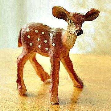 動物擺飾 可愛梅花鹿/單隻 【易奇寶】