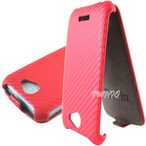 HTC One S (Z560) 動感卡夢紋 下掀式/掀蓋式 手機皮套