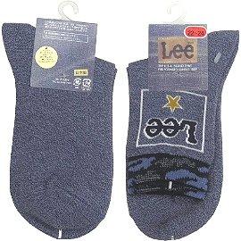 【波克貓哈日網】日本進口童襪◇LEE◇《22~24cm》藍色~~日本製