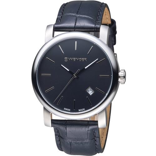 瑞士WENGER Urban 都會系列 現代經典紳士腕錶 01.1041.139