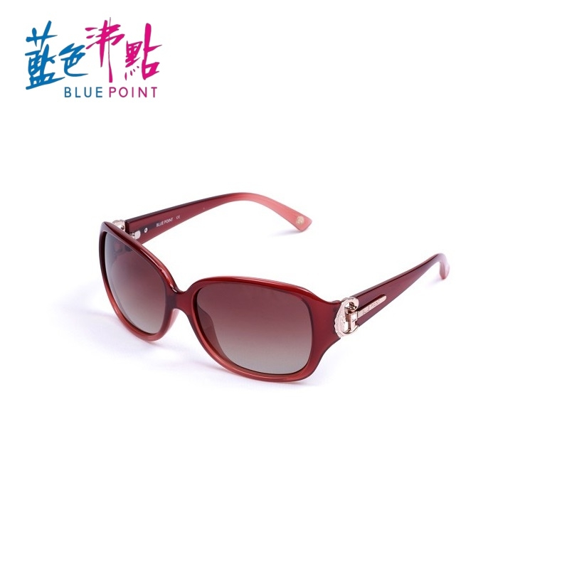 《FUTIS》BLUE POINT 藍色沸點 偏光太陽眼鏡 偏光鏡 抗UV400 防眩光反射光 B2011_C2 酒紅