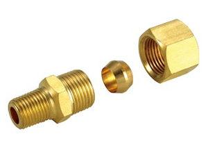 銅接頭 銅管接頭 1/4 PT*5/16 銅管