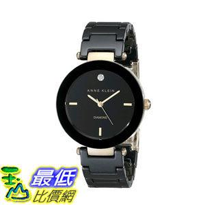 2015限量促銷款美國直購女士手錶Anne Klein Women's AK 1018BKBK Watch 4968