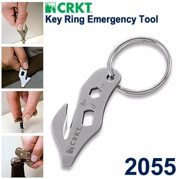 CRKT Key Ring Emergency Tool 救援工具鑰匙圈CRKT 2055【AH51010】99愛買生活百貨