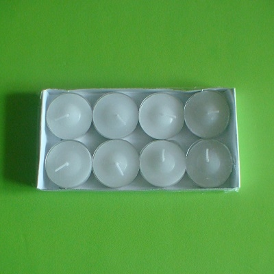 8入蠟燭(白色)