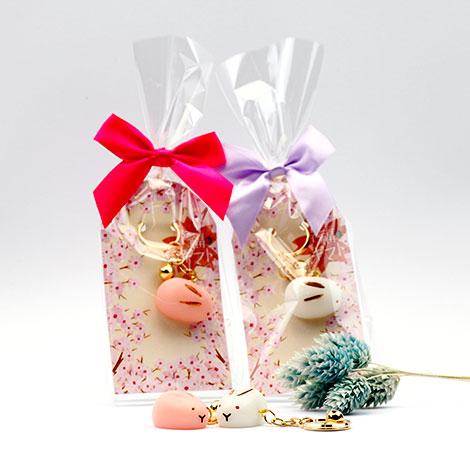 幸福婚禮小物鄉村熊饅頭兔鑰匙圈迎賓禮二次進場禮送客禮鑰匙圈