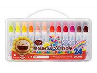 義大文具~雄獅奶油獅24色可水洗彩色筆D盒BLW-24B畫畫畫具美術用品美勞用品