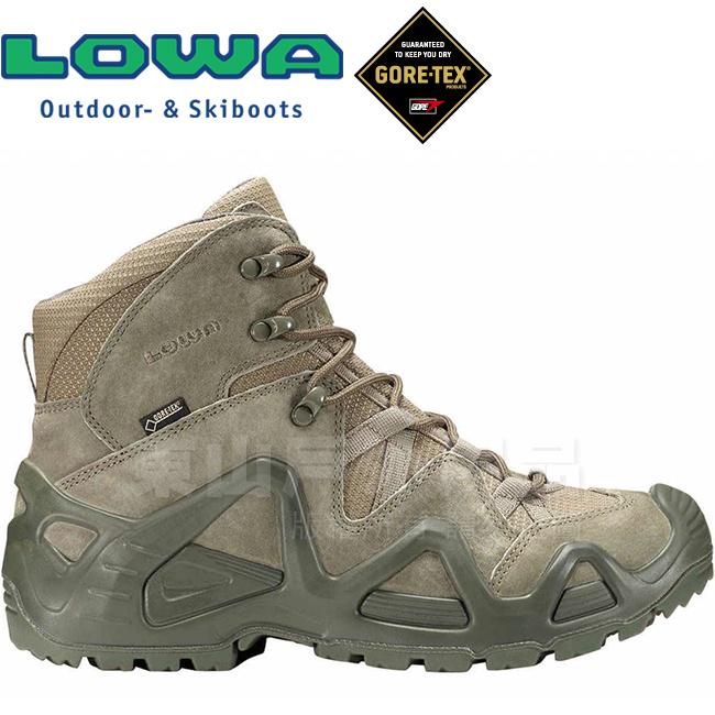Lowa 310537-0934鼠尾草綠男Gore-Tex中筒多功能軍用靴Zephyr Mid TF GTX防水登山鞋健行鞋軍靴