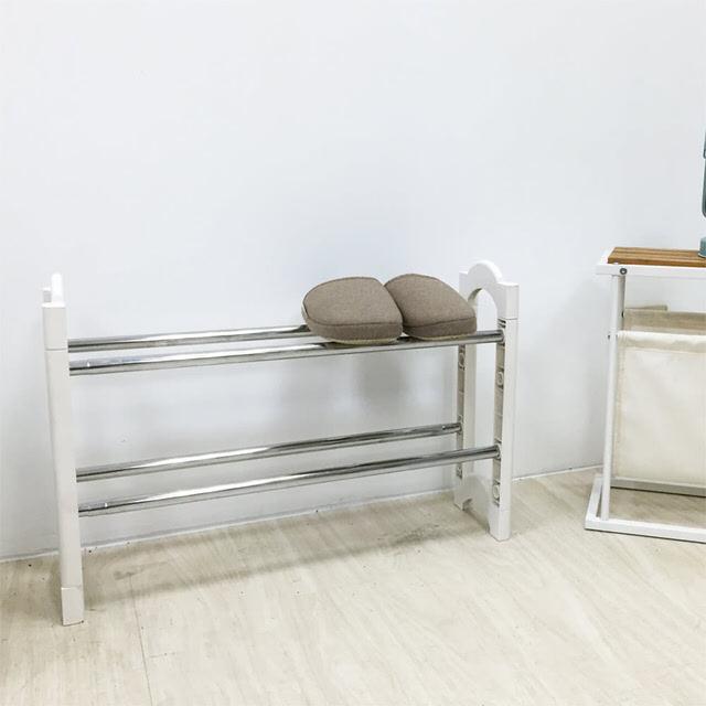 【澄境】日系可疊伸縮鞋架1入/鞋櫃/鞋架/室內拖/拖鞋架 SH52