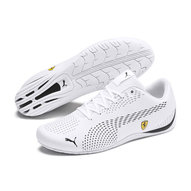 Puma SF 男 白 運動鞋 賽車鞋 法拉利 休閒鞋 聯名款 Ultra 皮革鞋面 30642204