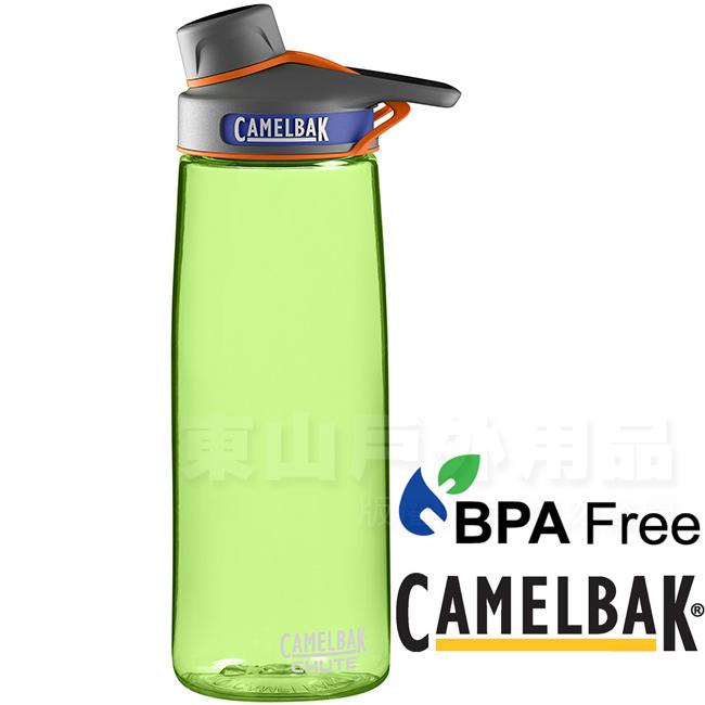 CamelBak 53540-萊姆750ml Chute戶外運動水瓶運動登山水壺環保水壺兒童水壺不含雙酚A