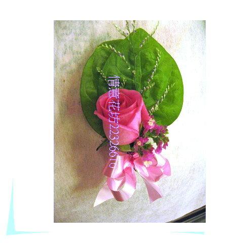 (YD-125)婚禮會場必備婚禮小物~婚禮&活動用胸花(石斛蘭/玫瑰花)每組50元~