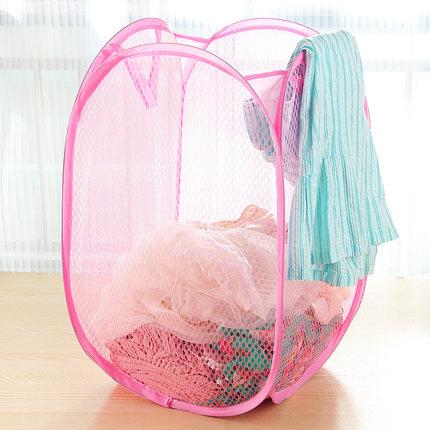 【01138】 摺疊洗衣籃 置物籃 收納盒 L03