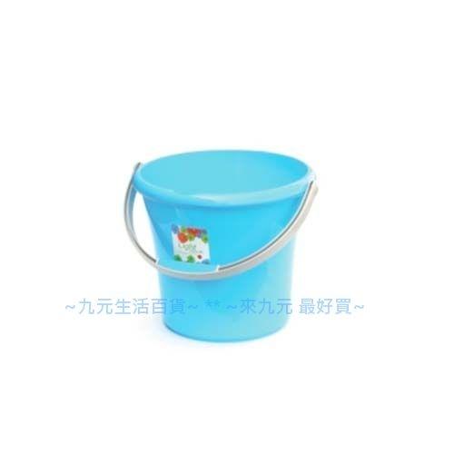【九元生活百貨】聯府 WF-10 好運花10L水桶 WF10