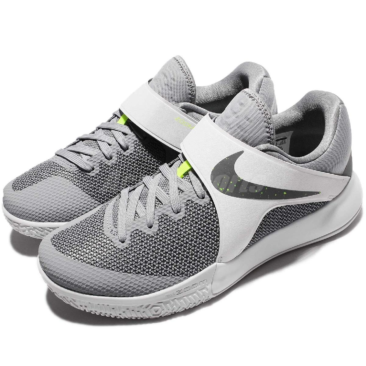 Nike籃球鞋Zoom Live EP灰綠魔鬼氈低筒球鞋推薦男鞋PUMP306 860633-002