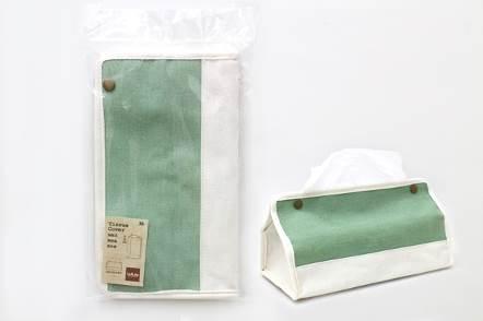 好市吉居家生活生活大師UdiLife S3036帆布面紙盒套面紙套衛生紙盒