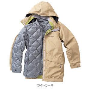 山水網路商城日本Mont-bell Vail Down Parka女款頂級羽絨Gore-tex防水外套1101349白卡其色
