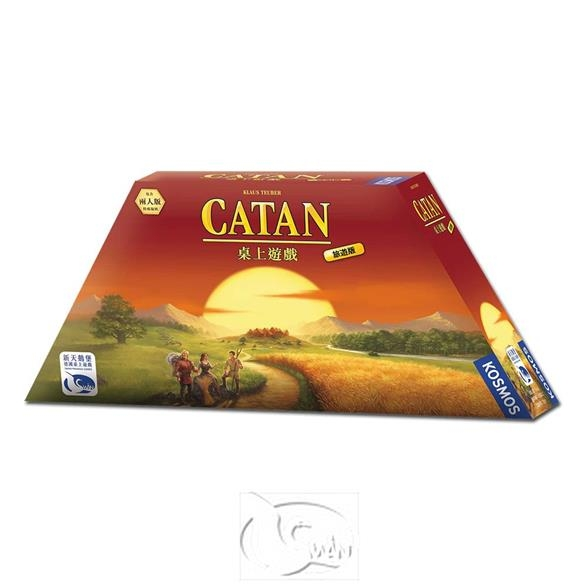 卡坦島旅遊版Catan Compact新天鵝堡桌遊