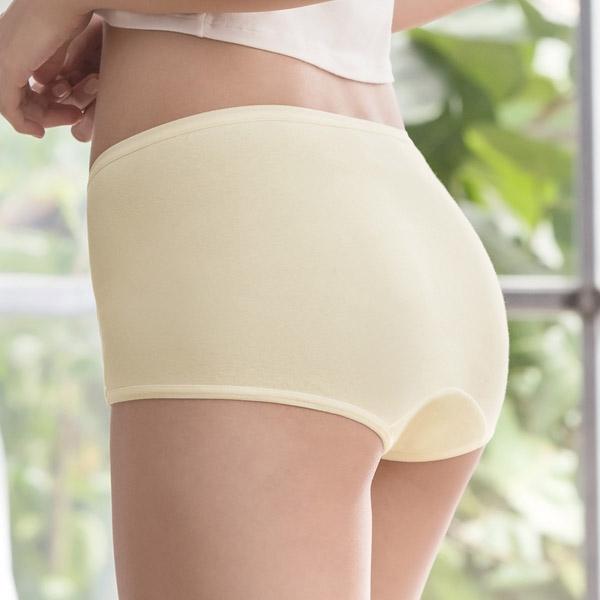 華歌爾環保纖維天絲綿內褲M-LL中低平口褲5件組