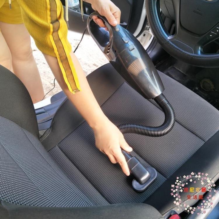 車載吸塵器大功率家用強力手持式小型車內超強吸力汽車吸塵器車用【維尼】