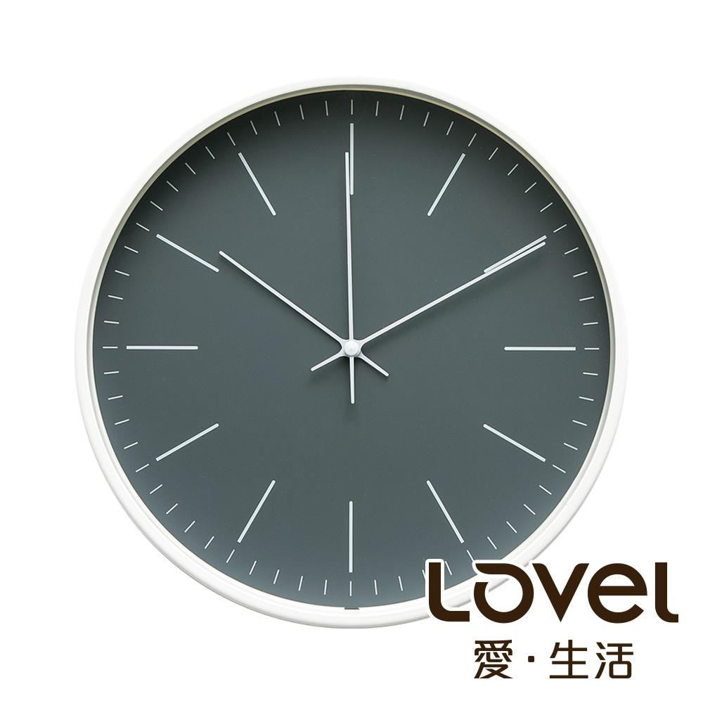 Lovel 30cm北歐簡約金屬框靜音時鐘 - 共5款