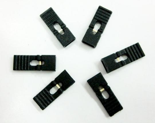 新竹 超人3C 一包10個 加長款 IDE 硬碟 主機板 BIOS 2P 短路器 2.54mm 0090205@3W9