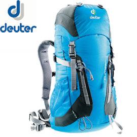 丹大戶外Deuter德國Climber拔熱背包22L透氣舒適休閒旅遊背包登山包健行兒童36073天藍灰