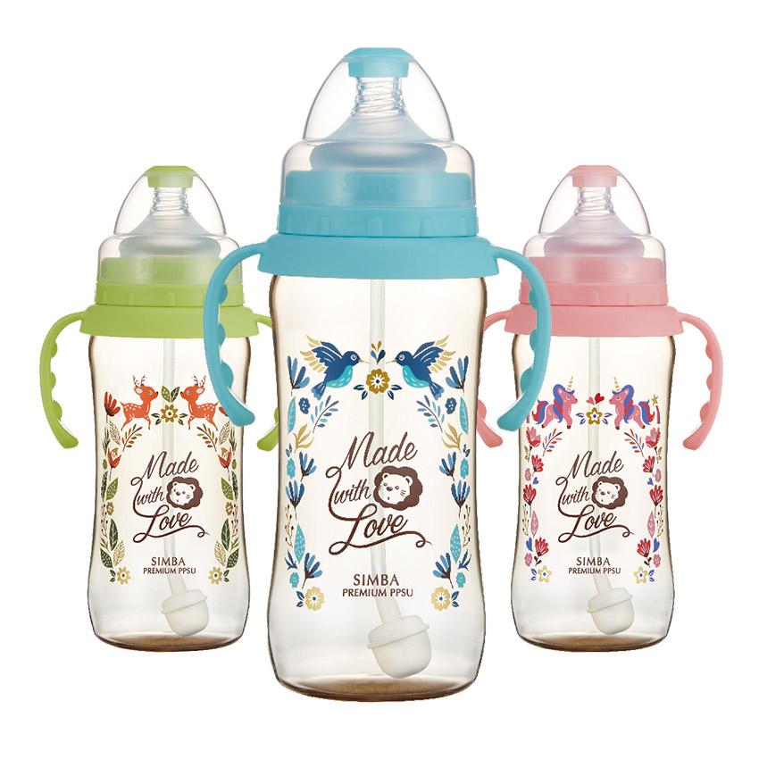 Simba小獅王辛巴 - 桃樂絲 - PPSU自動把手寬口葫蘆大奶瓶360ml