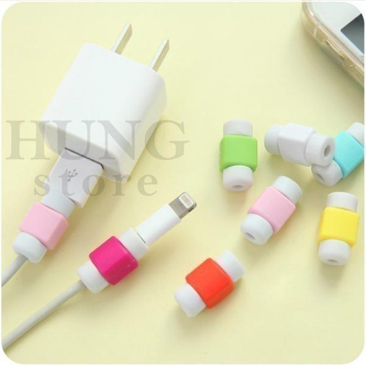 【SZ】(單個/單組) i 線套 無掛勾 傳輸線保護套 iPhone micro傳輸線USB 充電線保護套 耳機線