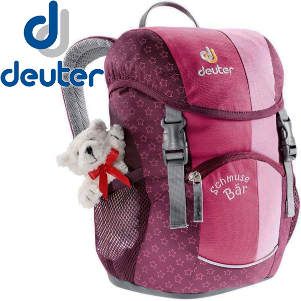 Deuter 36003-粉紅Schmusebar 8L兒童休閒後背包