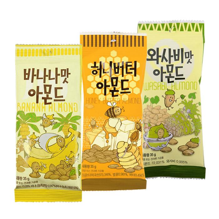 韓國Tome Gilim蜂蜜奶油蜂蜜芥末杏仁果35g進口團購零食糖果86小舖