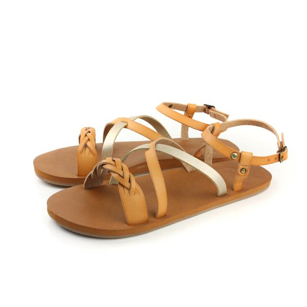 ROXY 涼鞋 咖啡色 女鞋 no018