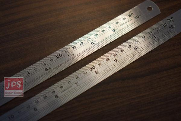 [旻新] 30cm鋼尺