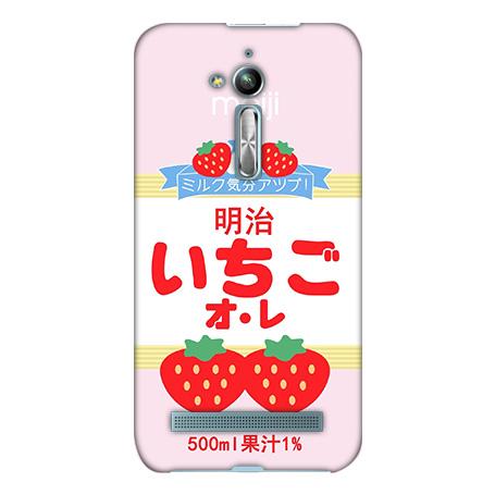 機殼喵喵華碩asus ZenFone go ZB500KL X00ADA手機殼軟殼保護套草莓牛奶