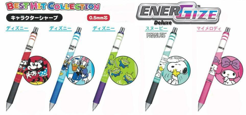 Pentel 飛龍牌ENER GIZE迪士尼限定款極速自動鉛筆0.5mm