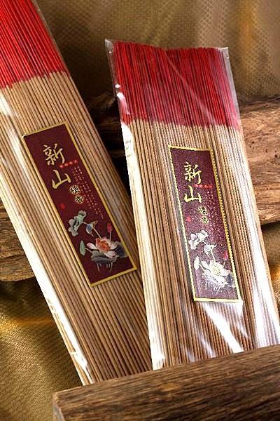 立香【和義沉香】《編號B502》新山檀立香  手工立香 工廠批發價 尺6/尺3 1斤裝$200
