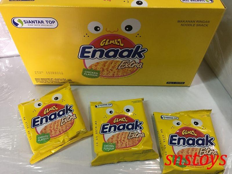 sns 韓國 Enaak 小雞點心麵 香脆點心麵 點心脆麵 小雞麵 點心麵 大包裝 720公克(30公克X24包)
