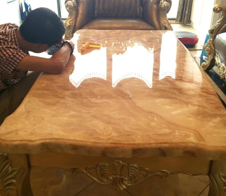 家具貼膜貼紙透明玻璃茶幾烤漆實木大理石灶臺桌面保護膜餐桌貼膜