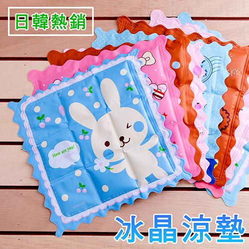 名流寢飾家居館3件超值組冰晶涼墊多款花色35X35公分日韓熱銷
