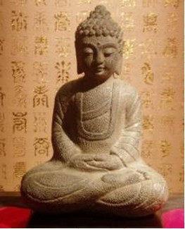 中式工藝品釋伽牟尼 坐佛
