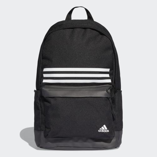★現貨在庫★ Adidas Classic 3-Stripes Pocket 背包 後背包 休閒 筆電 水壺 黑 【運動世界】 DT2616